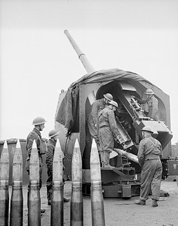 4.5 inch Anti-Aircraft Gun