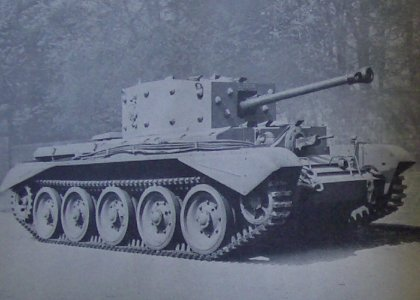 A 6 Pounder Armed Cromwell